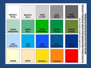 cores tinta epóxi SW02