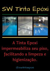 Tinta Epóxi - Impermeabilização do piso